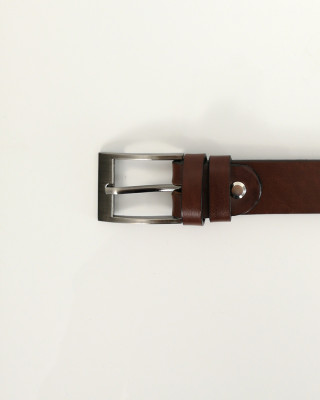 Pasek Skórzany Brązowy 130cm