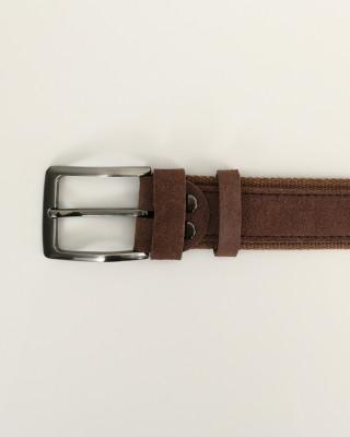 Pasek Skórzany Brązowy 120cm