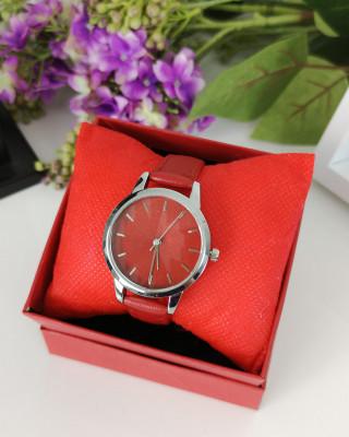 Zegarek czerwony