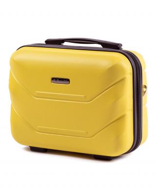 Żółty kuferek