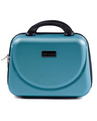 Srebrno niebieski kuferek