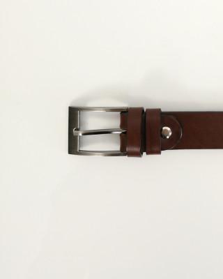 Pasek Skórzany Brązowy 105cm