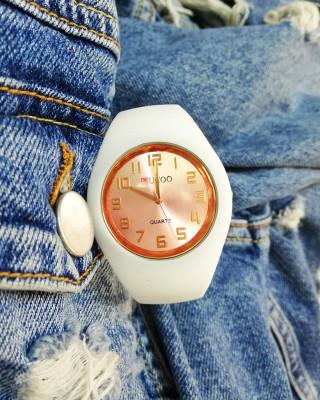 Zegarek silikonowy biały