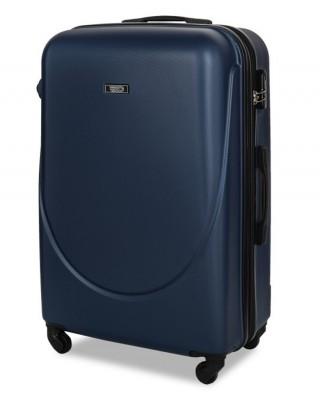 walizka Granatowa średnia