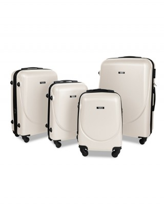 walizka Kremowa kabinowa