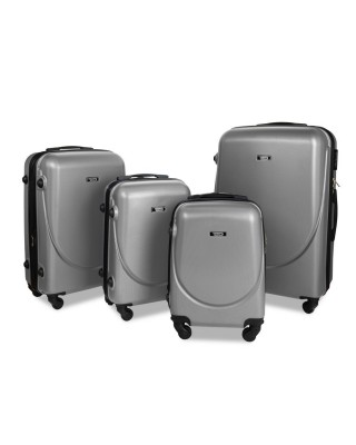walizka Srebrna kabinowa