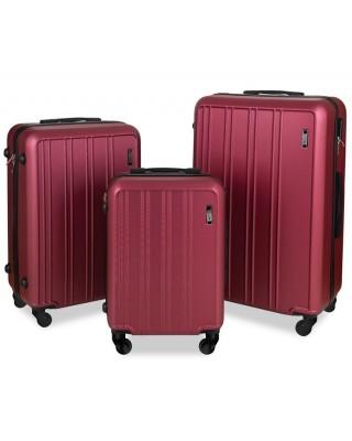 walizka Bordowa duża