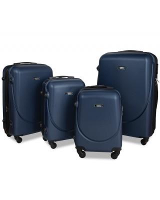 walizka Granatowa kabinowa