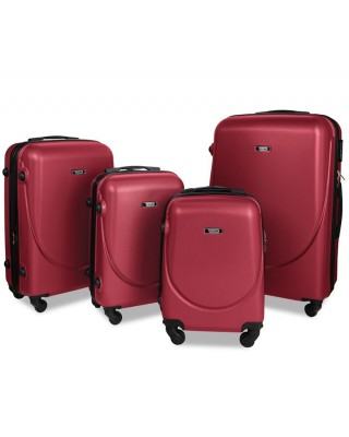 walizka Bordowa mała
