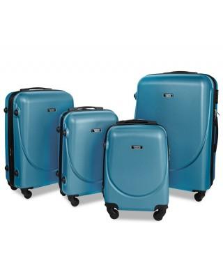walizka Błękitna średnia