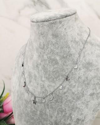 Łańcuszek srebrny NR085