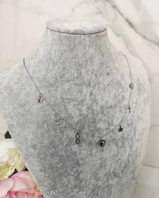 Łańcuszek srebrny NR099