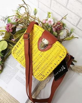 Koszyk TROPIC żółty