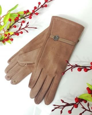 Rękawiczki VOGUE beżowe