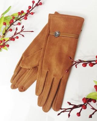 Rękawiczki VOGUE rude