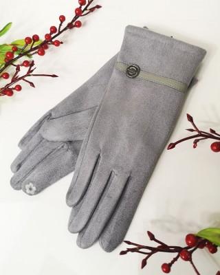 Rękawiczki VOGUE Szare